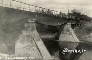 Vīles šaursliežu dzelzceļa tilts