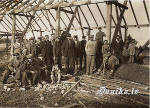 Golgātas baznīcas celtniecība