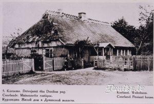 Dzīvojamā ēka Dunikas pagastā.