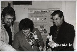 Dunikas senlietu krātuves materiālu izstāde Sikšņu skolā- Andrejs Valdmanis, Ausma Padalka, Jānis Stunga