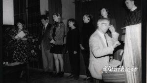 Dunikas pagasta 75. gadu svinības. Dace Ziemele un Mūzikas vidusskolas ansamblis, vadītājs Miervaldis Ziemelis