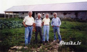 Brāļi Ziemeļi, no kreisās- Pēteris, Imants, Jānis, Miervaldis