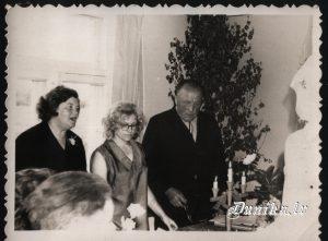 Dunikas pagasta priekšnieks .......Laugalis, Dzidra Šneidere, Lidija Streleviča