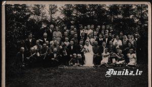 Otīlijas Roles un Jūlija Alberta Kundziņa kāzas 1943. gads