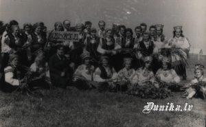 Bārtas un Dunikas apvienotais koris dziesmu svētkos Rīgā