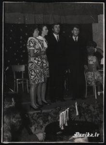 Vokālais Kvartets. Irma Kļava, Rasma Juzupa, Gunārs Juzups, Maigonis Innis.