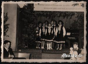 Sikšņu skolas un ciema ansamblis. Marija Tretjakova, Inta Kūpele, Rita Bērziņa, Lita Grabovska, Silvija Ozola, Laimdota Tramdaka