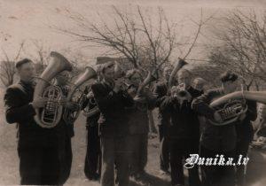 Dunikas pagasta pūtēju orķestris ........ Cērps, Arvīds Slamsts