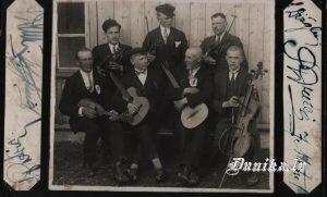 Sikšņu Instrumentālais ansamblis. Vadītājs-Jānis Dižgalvis, Jānis Putra