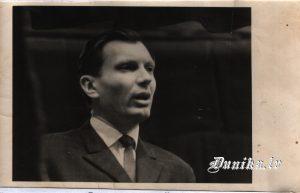 """Kolhoza """"Uzvara"""" priekšsēdētājs no 1951- 1954. un 1961-1962.g Jūlijs Kundziņš"""