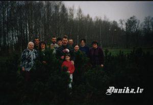 Dunikas mežkopji- Andis un Lienīte Ozolini, Jānis un Anita Vilkauli, Gunta Pelīte- Broka