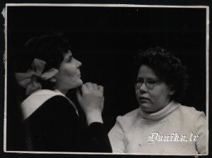 Teātris- Irma Kļava un Vilma Cvībele