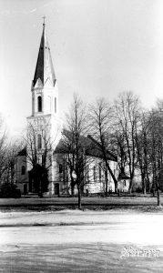 Rucavas baznīca 1981. g.