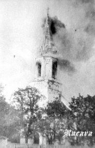 Rucavas baznīcas degšana 1927. g.