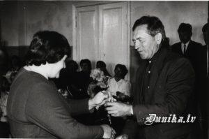 Ausma Padalka un Pēteris Sungāls