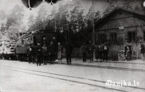 Ječu stacija 1930 /1931 gadā