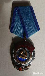 Darba Sarkanā karoga ordenis.
