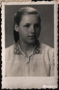Jaunības un arī tagadējā draudzene- Tiļuga Rita.