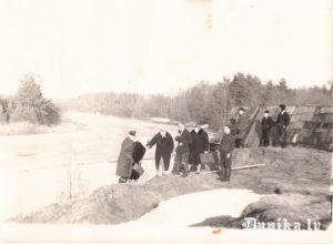 Bārtas upe 1967 gada novembrī plūdu laikā.