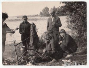 Usmas ezers. 1965. gada 8. augusts.