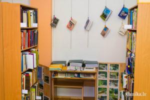 No Dunikas bibliotēkas ekspozīcijas.