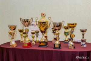 Dunikas sporta trofejas.