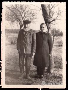 Jēkabs Auders ar meitu Ilgu.