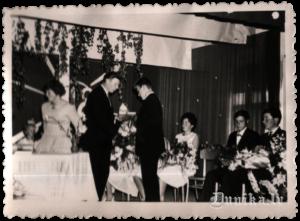 Pilngadības svētki Sikšņu tautas namā 1966. gadā.