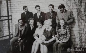 Arvīda Rāta brāļa Ilmāra kāzas 1973. gad aprīļa beigās Jelgavā, Māteru 21.