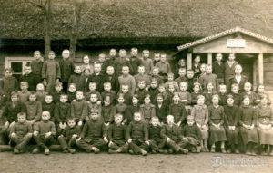 Roļu – Klētnieki 1925. gadā. Toreiz Sikšņu 1. pakāpes pamatskola.