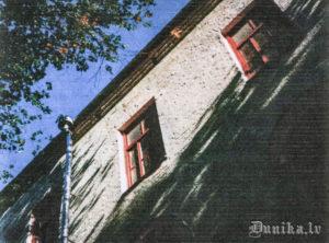 Nr 1 ārsiena, pie kuras laikā no 7 līdz 10 janvārim nošāva atvestos ieslodzītos no Vjatlaga. Patreiz bijušajā cietumā atrodas tekstilkombināts.