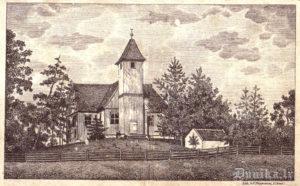 Rucavas Luterāņu baznīca.
