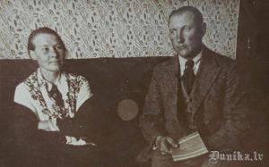 Viļņa Roļa vecāki.