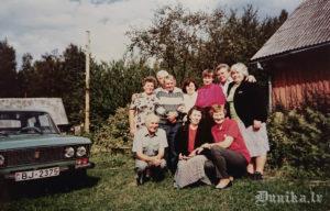 Vilnis Rolis kopā ar bijušajiem izsūtītajiem