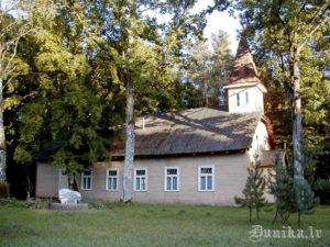 Dunikas- Golgātas (Krustceļu) luterāņu baznīca.