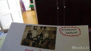 Ģeistautu skolā. Ļeņina bilde pie sienas.