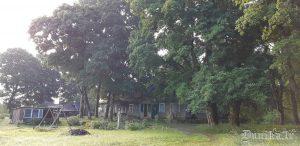 Kādreizējās Luknes mežniecības ēka.